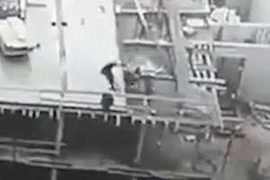 Công nhân ngã nhào từ tòa nhà cao tầng đang xây dựng ở Nga