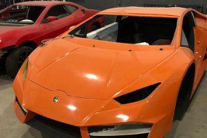 Triệt phá cơ sở sản xuất siêu xe Lamborghini giả giá chỉ 45.000 USD