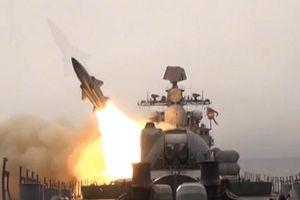 Xem Nga bắn tên lửa siêu thanh chống hạm vào mục tiêu trên biển Nhật Bản
