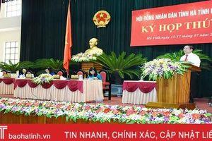 HĐND tỉnh Khóa XVII thông qua 21 nghị quyết tại Kỳ họp thứ 10
