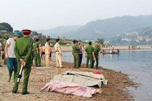 Phú Thọ: Rủ bạn về quê tắm sông Đà, 4 thanh niên tử vong