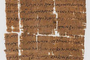 Giới khoa học giải mã nội dung bức thư Kitô giáo cổ nhất thế giới
