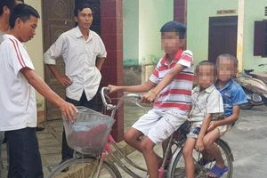 Hé lộ câu chuyện ly kỳ 'đánh lừa' công an của 3 cháu bé đi lạc ở Nghệ An