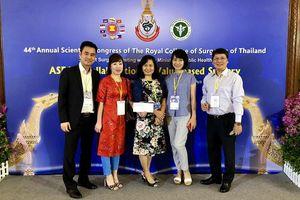 Bác sĩ Bệnh viện Hữu nghị Việt Đức giành giải nhất tại hội nghị ngoại khoa Đông Nam Á