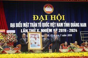 Ông Võ Xuân Ca tái đắc cử chức Chủ tịch Ủy ban MTTQ tỉnh Quảng Nam