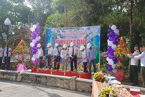 Khởi công xây dựng Nhà bia ghi danh liệt sĩ Quảng Nam – Đà Nẵng tại Nghĩa trang Trường Sơn