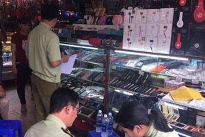 TP. Hồ Chí Minh phát hiện số lượng lớn hàng hiệu giả mạo nhãn hiệu