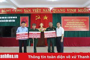 Agribank Thanh Hóa tặng quà cho các thương, bệnh binh