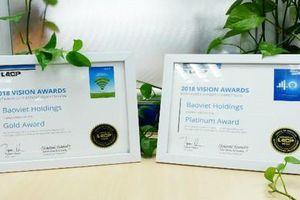 Bảo Việt đạt giải Bạch kim Cuộc bình chọn Báo cáo thường niên của LACP (Hoa Kỳ)