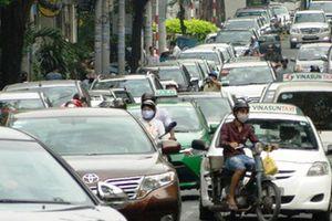 Đề xuất phương án thu phí ô tô vào trung tâm TP.HCM để giảm ùn tắc