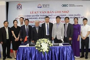 Bệnh viện Ung bướu Hà Nội hợp tác với Hàn Quốc về đào tạo chuyên viên y tế