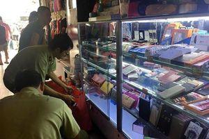 Đồng loạt kiểm tra chợ Bến Thành, Sài Gòn Square