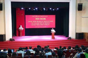 Cán bộ, phóng viên báo chí Hà Nội học tập Nghị quyết Trung ương 10