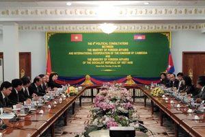 Tham khảo chính trị Việt Nam-Campuchia lần thứ 6