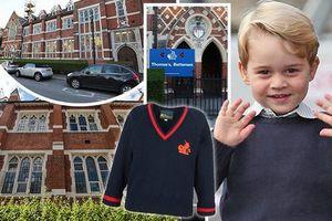 Trường mẫu giáo của Hoàng tử George hoành tráng cỡ nào?