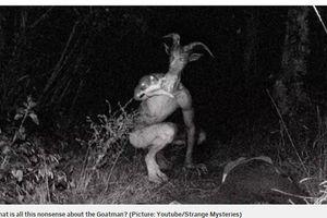 Quá sốc hình ảnh có thật nóng hổi về quái vật người dê