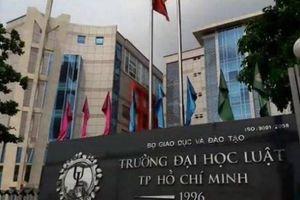 Kết quả sơ tuyển vòng 1 vào Trường ĐH Luật TPHCM