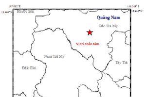 Động đất mạnh ở khu vực thủy điện Sông Tranh 2
