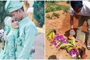 Đau xót câu chuyện yêu nhau 8 năm, vừa kết hôn 3 tháng chàng trai đã mất vợ