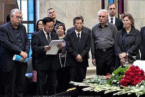 Vĩnh biệt hai người bạn Nga đã dành cả cuộc đời vun đắp cho quan hệ Nga-Việt
