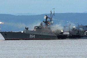 Chiến hạm Việt Nam, Trung Quốc và Ấn Độ tham gia diễu hành Ngày Hải quân Nga