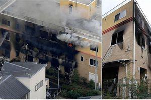 Xưởng phim hoạt hình nổi tiếng Nhật Bản bị đốt phá