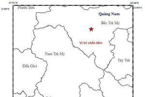 Vừa xảy ra động đất 3,8 độ Richter tại Quảng Nam
