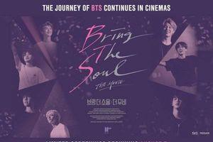 Hé lộ thêm những hình ảnh về phim 'Bring The Soul: The Movie' của BTS