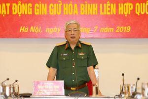 Thượng tướng Nguyễn Chí Vịnh kiểm tra bệnh viện dã chiến cấp 2 số 2