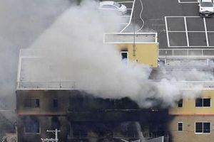 Một xưởng phim hoạt hình bị phóng hỏa, khoảng 40 người bị thương vong