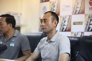 HLV Lee Tae Hoon phản bác câu nói 'đá cho vui' của bầu Đức