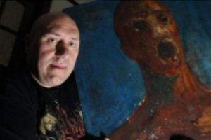 Rợn người bức tranh 'ma ám' nhuốm máu họa sĩ vô danh