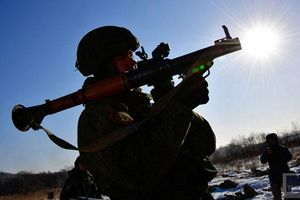 Quan sát lính Nga tập bắn súng chống tăng B41