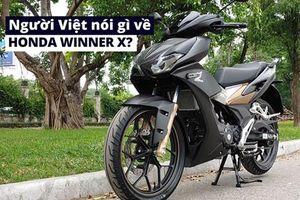 Người Việt nói gì về Honda Winner X?