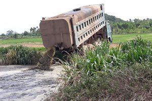Tiếp bài 'Nghệ An: TH True Milk tưới cỏ bằng nước phân tươi?': Vẫn tiếp tục vi phạm?