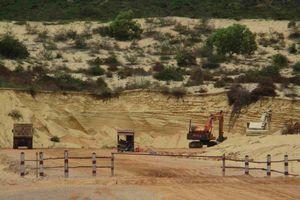 Bình Định: Dân tố Công ty Vạn Phát Group khai thác, mua bán cát trong Khu kinh tế Nhơn Hội