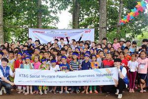 Trại tình nguyện tại trường Tiểu học Thới An Hội 2 (Sóc Trăng)