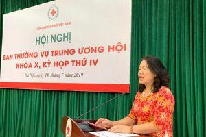 6 tháng đầu năm 2019, trị giá hoạt động toàn Hội Chữ thập đỏ Việt Nam đạt hơn 2.566 tỉ đồng