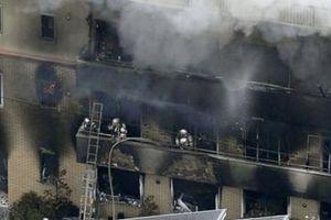 Xưởng phim hoạt hình bị phóng hỏa, ít nhất 12 người thiệt mạng