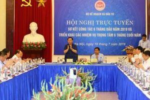 10 nội dung được thảo luận tại Hội nghị sơ kết 6 tháng của Bộ Kế hoạch và Đầu tư