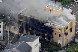 Nổ lớn ở xưởng phim hoạt hình Nhật Bản, 1 người chết, gần 40 người bị thương