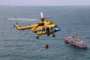 Phối hợp tìm kiếm cứu nạn máy bay lâm nạn trên biển