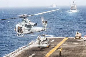 Mỹ phá hủy máy bay không người lái của Iran ở eo biển Hormuz