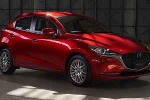 Mazda 2 bản nâng cấp thay đổi ngoại hình, thêm công nghệ an toàn