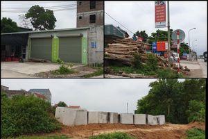 Tại huyện Chương Mỹ: Nhiều công trình xây dựng lấn chiếm hành lang đê ở Trường Yên
