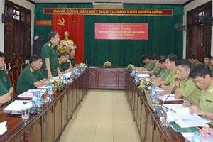 Tăng cường phối hợp giữa DQTV với các lực lượng trong bảo vệ an ninh chính trị