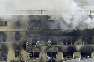 Nhật Bản: Cháy xưởng phim hoạt hình, 33 người chết