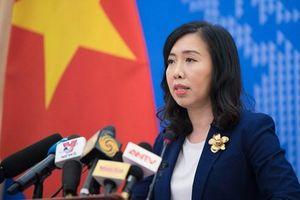 Tàu Trung Quốc vi phạm thềm lục địa Việt Nam