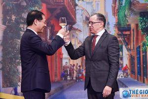 Thứ trưởng Bùi Thanh Sơn dự lễ kỷ niệm 209 năm Quốc khánh Colombia