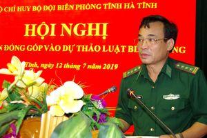 BĐBP Hà Tĩnh: Đóng góp ý kiến vào dự thảo Luật Biên phòng Việt Nam